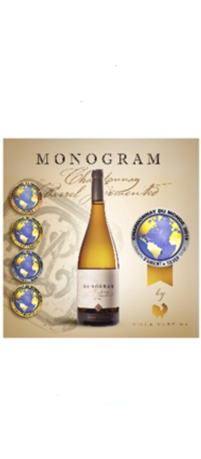 Monogram Chardonnay Barrel Fermented 2018