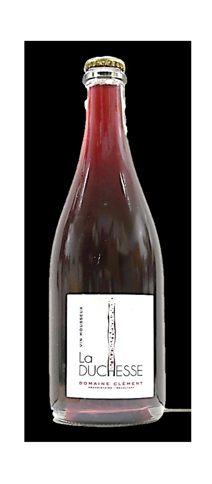 Domaine Clément Guillaume «  La Duchesse »  Vin mousseux rouge