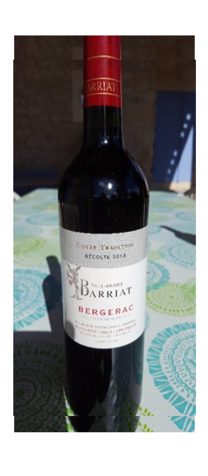Bergerac Rouge Tradition P.A.Barriat 2018