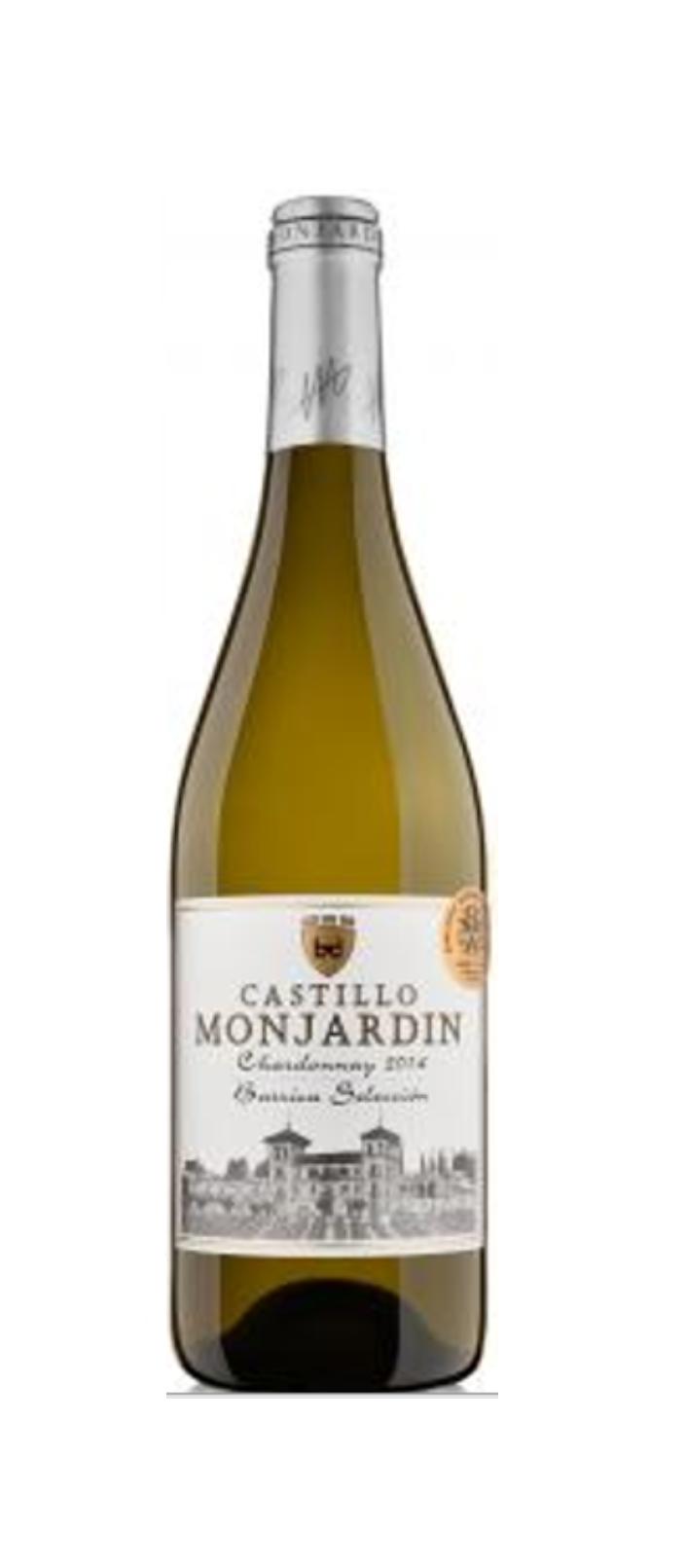 CASTILLO Monjardin Chardonnay barrica 2016 - BLANC