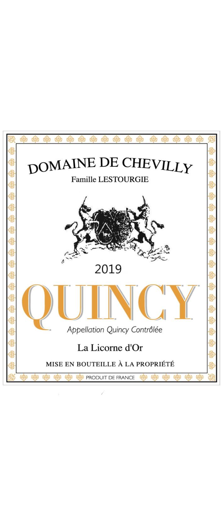 QUINCY LA LICORNE D'OR 2019