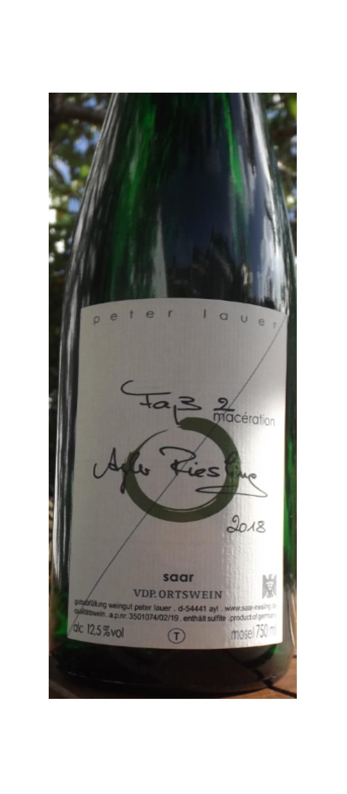 Weingut Peter Lauer/ Sarre - Ayler Riesling Fass 2 2018 sec