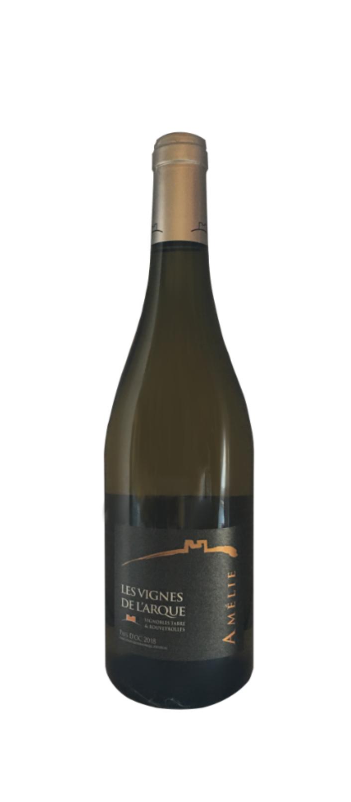 IGP Cévennes - Amélie (Chardonnay élevé en fûts de chêne, Viognier, Sauvignon) - 2019 - BLANC